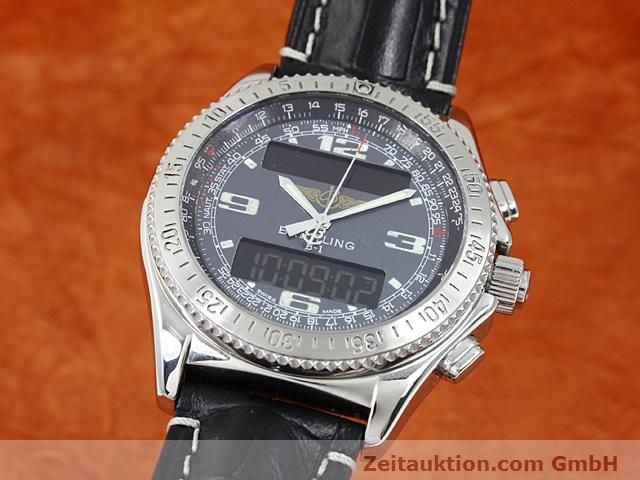Used luxury watch Breitling B1 steel quartz Kal. ETA E20351 Ref. A68062  | 140649 04