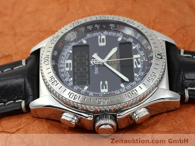 Used luxury watch Breitling B1 steel quartz Kal. ETA E20351 Ref. A68062  | 140649 05