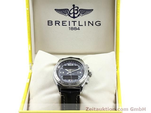 Used luxury watch Breitling B1 steel quartz Kal. ETA E20351 Ref. A68062  | 140649 07