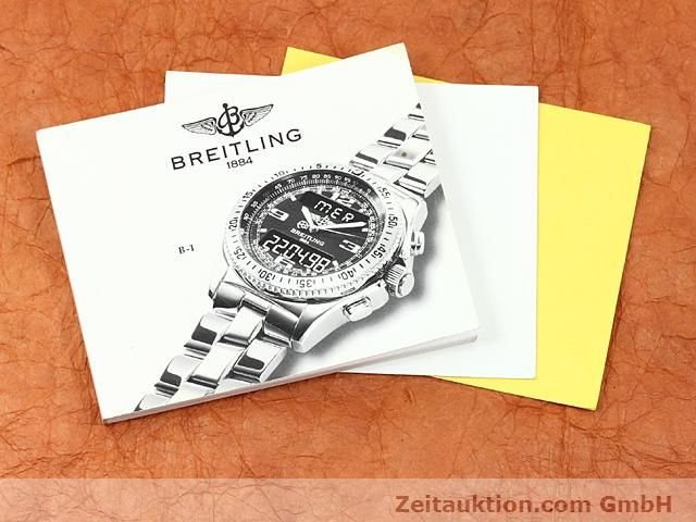 Used luxury watch Breitling B1 steel quartz Kal. ETA E20351 Ref. A68062  | 140649 08