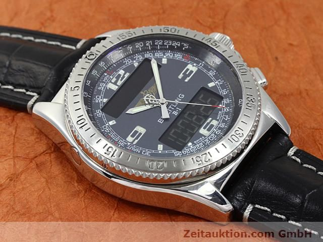 Used luxury watch Breitling B1 steel quartz Kal. ETA E20351 Ref. A68062  | 140649 11