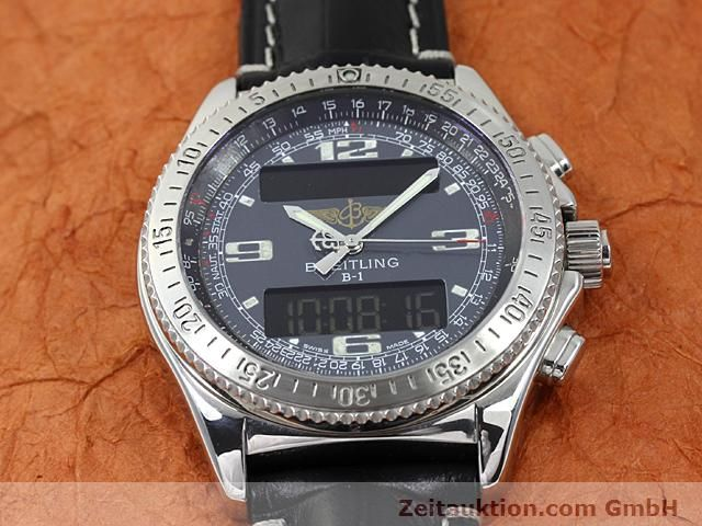 Used luxury watch Breitling B1 steel quartz Kal. ETA E20351 Ref. A68062  | 140649 12