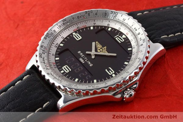 Used luxury watch Breitling Chronospace steel quartz Kal. ETA 988332 Ref. A56011  | 140651 01
