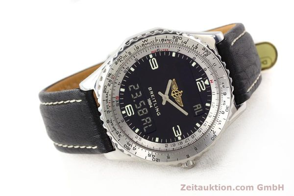 Used luxury watch Breitling Chronospace steel quartz Kal. ETA 988332 Ref. A56011  | 140651 03