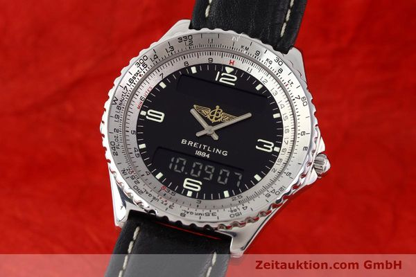 Used luxury watch Breitling Chronospace steel quartz Kal. ETA 988332 Ref. A56011  | 140651 04