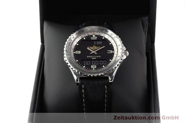 Used luxury watch Breitling Chronospace steel quartz Kal. ETA 988332 Ref. A56011  | 140651 07