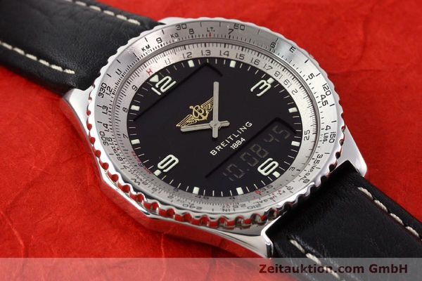 Used luxury watch Breitling Chronospace steel quartz Kal. ETA 988332 Ref. A56011  | 140651 11