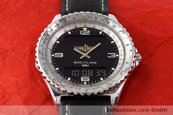 Used luxury watch Breitling Chronospace steel quartz Kal. ETA 988332 Ref. A56011  | 140651 12