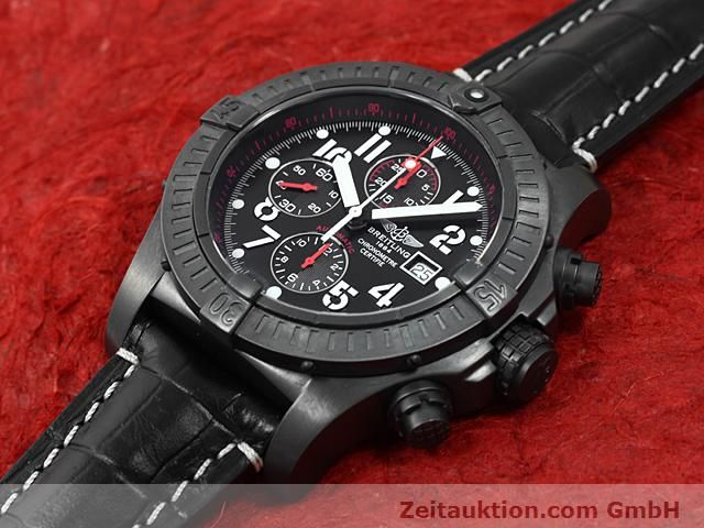 Used luxury watch Breitling Avenger steel automatic Kal. VAL 7750 Ref. A13370  | 140652 01