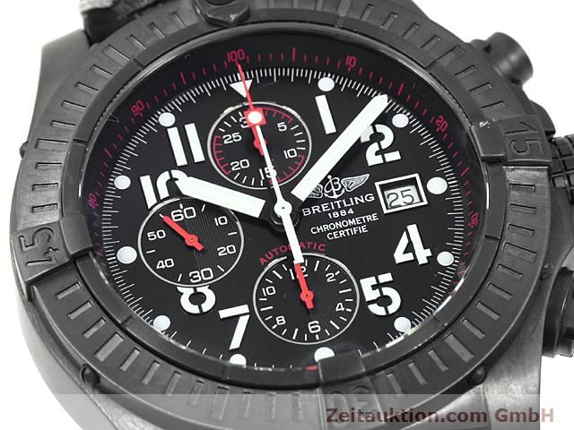 Used luxury watch Breitling Avenger steel automatic Kal. VAL 7750 Ref. A13370  | 140652 02