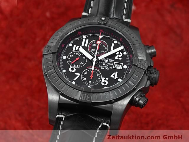 Used luxury watch Breitling Avenger steel automatic Kal. VAL 7750 Ref. A13370  | 140652 04
