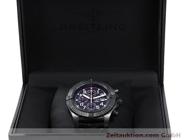 Used luxury watch Breitling Avenger steel automatic Kal. VAL 7750 Ref. A13370  | 140652 07