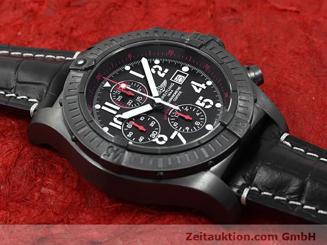Used luxury watch Breitling Avenger steel automatic Kal. VAL 7750 Ref. A13370  | 140652 13