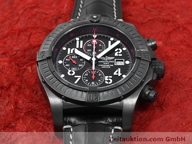 Used luxury watch Breitling Avenger steel automatic Kal. VAL 7750 Ref. A13370  | 140652 14