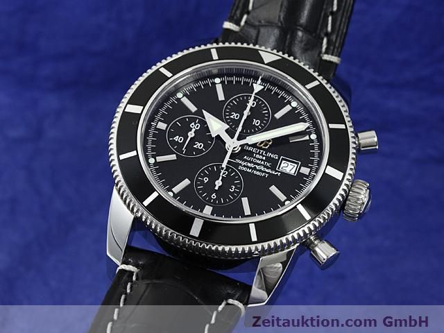 Used luxury watch Breitling Superocean steel automatic Kal. ETA 7750 Ref. A13320  | 140653 04