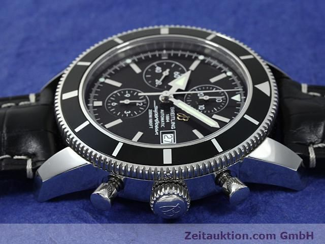 Used luxury watch Breitling Superocean steel automatic Kal. ETA 7750 Ref. A13320  | 140653 05