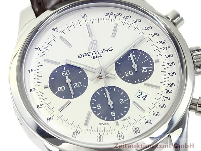 Used luxury watch Breitling Transocean steel automatic Kal. B01 Ref. AB0151  | 140654 02