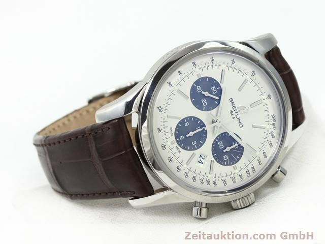 Used luxury watch Breitling Transocean steel automatic Kal. B01 Ref. AB0151  | 140654 03