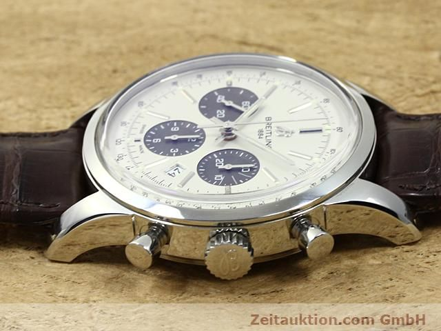 Used luxury watch Breitling Transocean steel automatic Kal. B01 Ref. AB0151  | 140654 05