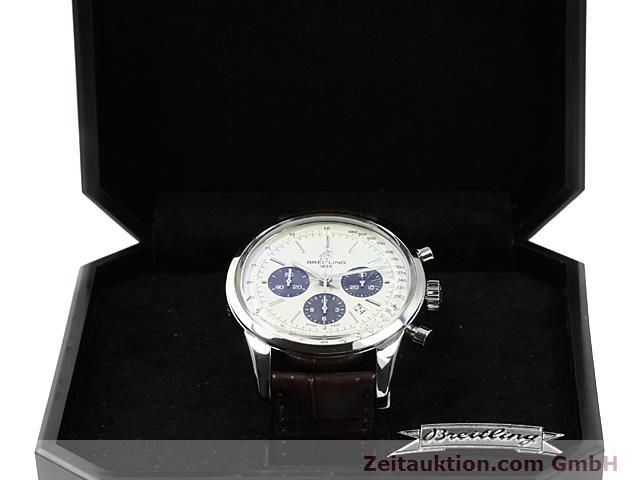 Used luxury watch Breitling Transocean steel automatic Kal. B01 Ref. AB0151  | 140654 07