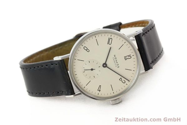 Used luxury watch Nomos Tangente steel manual winding Kal. ETA 7001  | 140655 03