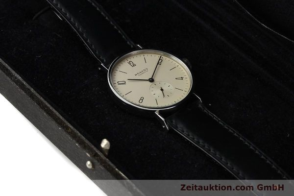 Used luxury watch Nomos Tangente steel manual winding Kal. ETA 7001  | 140655 07