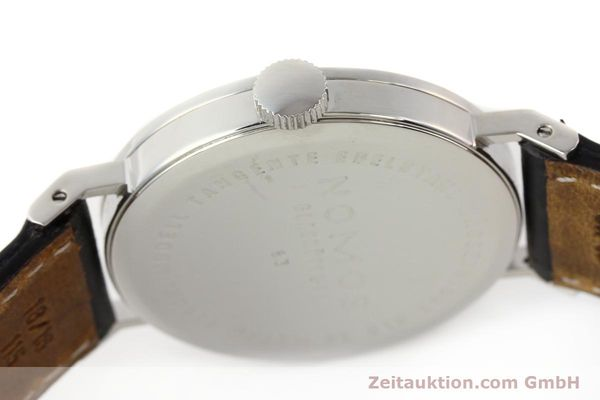 Used luxury watch Nomos Tangente steel manual winding Kal. ETA 7001  | 140655 11