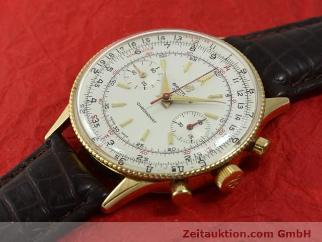 Used luxury watch Breitling Chronomat gold-plated manual winding Kal. Venus 175 Ref. 808  | 140659 01