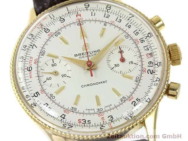 Used luxury watch Breitling Chronomat gold-plated manual winding Kal. Venus 175 Ref. 808  | 140659 02
