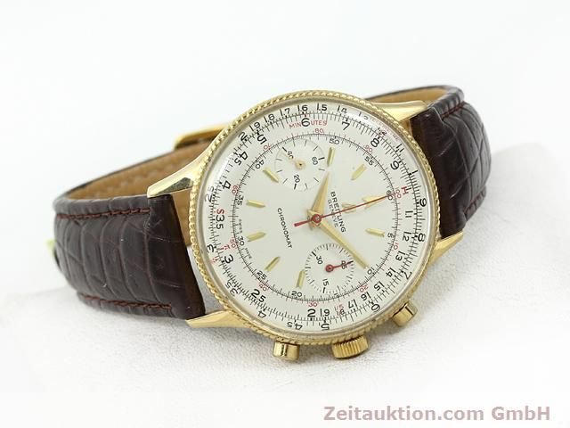 Used luxury watch Breitling Chronomat gold-plated manual winding Kal. Venus 175 Ref. 808  | 140659 03