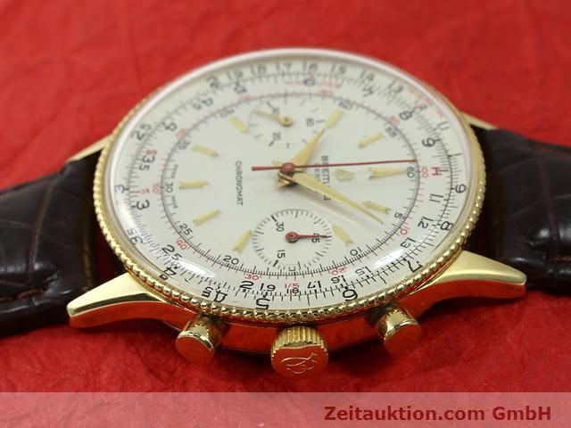 Used luxury watch Breitling Chronomat gold-plated manual winding Kal. Venus 175 Ref. 808  | 140659 05