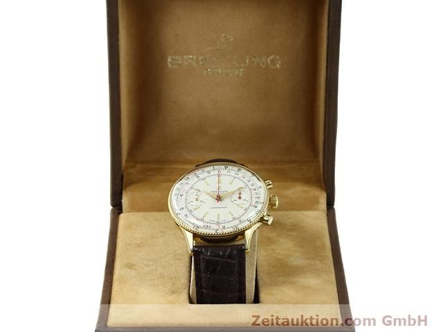 Used luxury watch Breitling Chronomat gold-plated manual winding Kal. Venus 175 Ref. 808  | 140659 07