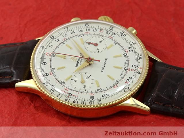 Used luxury watch Breitling Chronomat gold-plated manual winding Kal. Venus 175 Ref. 808  | 140659 11
