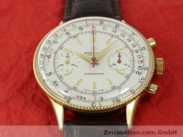 Used luxury watch Breitling Chronomat gold-plated manual winding Kal. Venus 175 Ref. 808  | 140659 12