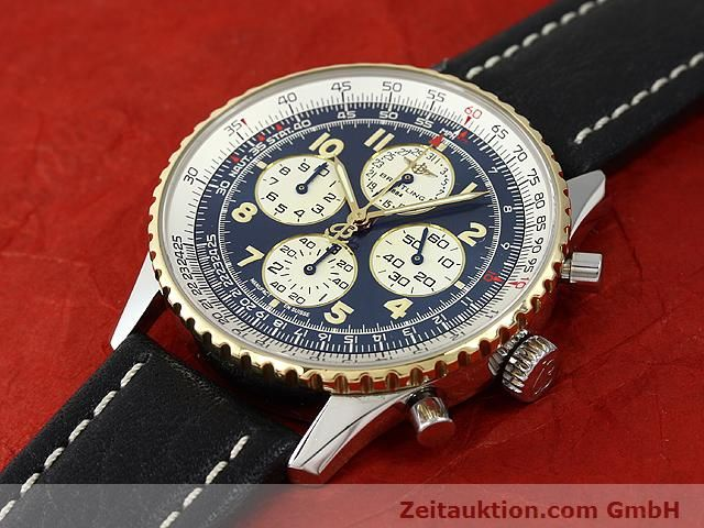 Used luxury watch Breitling Navitimer gilt steel automatic Kal. ETA 2892A2 Ref. D33030  | 140663 01