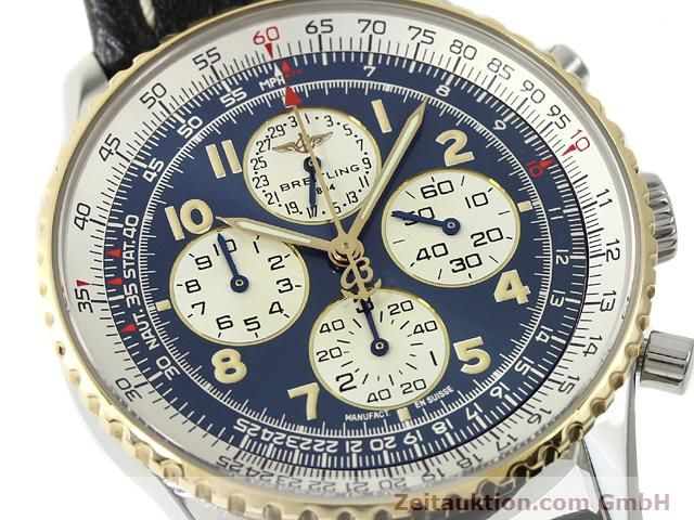 Used luxury watch Breitling Navitimer gilt steel automatic Kal. ETA 2892A2 Ref. D33030  | 140663 02