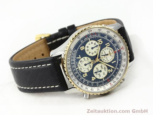 Used luxury watch Breitling Navitimer gilt steel automatic Kal. ETA 2892A2 Ref. D33030  | 140663 03