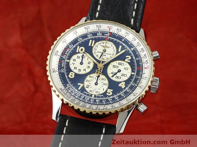 Used luxury watch Breitling Navitimer gilt steel automatic Kal. ETA 2892A2 Ref. D33030  | 140663 04