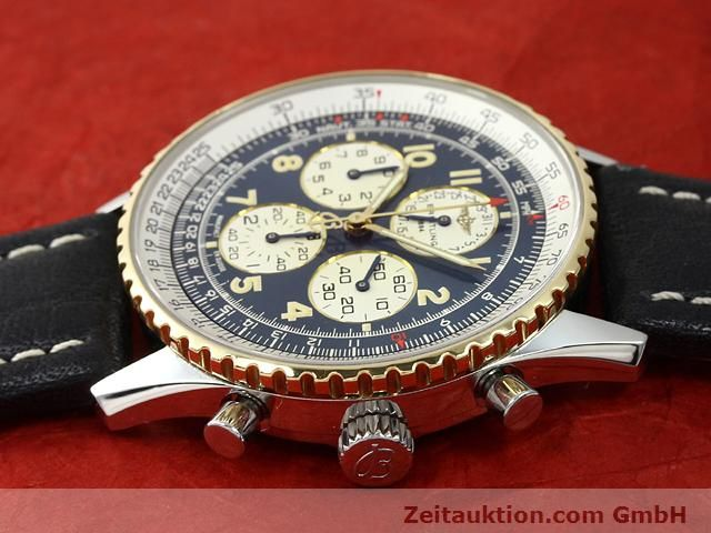 Used luxury watch Breitling Navitimer gilt steel automatic Kal. ETA 2892A2 Ref. D33030  | 140663 05