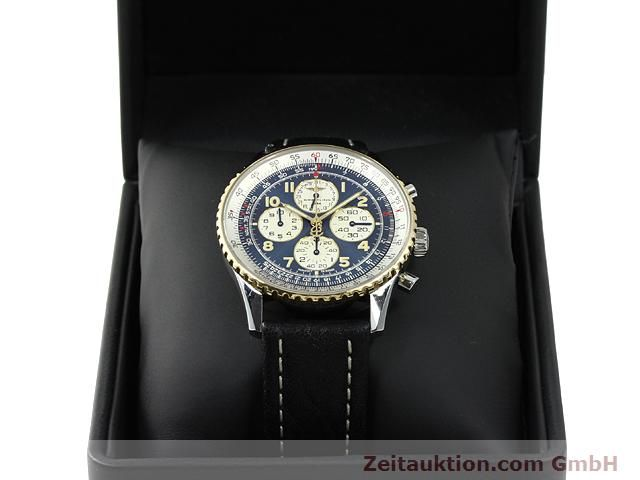 Used luxury watch Breitling Navitimer gilt steel automatic Kal. ETA 2892A2 Ref. D33030  | 140663 07