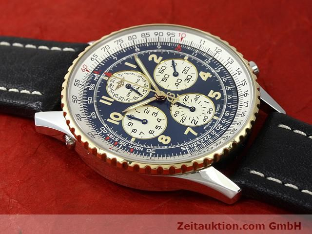 Used luxury watch Breitling Navitimer gilt steel automatic Kal. ETA 2892A2 Ref. D33030  | 140663 13