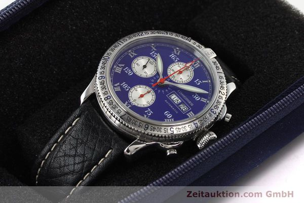 Used luxury watch Longines Lindbergh Stundenwinkel steel automatic Kal. L674.8 ETA 7750 Ref. L2.618.4  | 140666 07