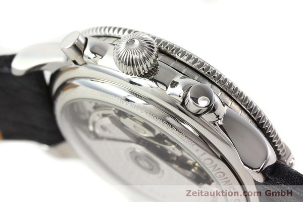Used luxury watch Longines Lindbergh Stundenwinkel steel automatic Kal. L674.8 ETA 7750 Ref. L2.618.4  | 140666 10