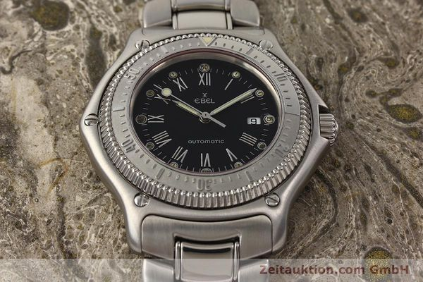 Used luxury watch Ebel Discovery steel automatic Ref. 993913  | 140669 14