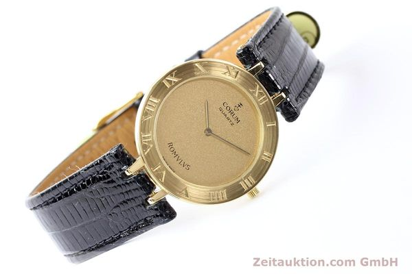 Used luxury watch Corum Romulus 18 ct gold quartz Kal. ETA 210001  | 140670 03