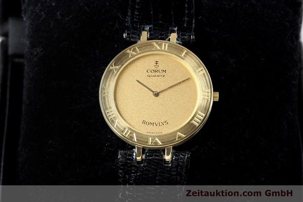 Used luxury watch Corum Romulus 18 ct gold quartz Kal. ETA 210001  | 140670 07