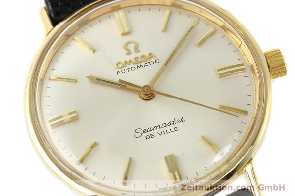 montre de luxe d occasion Omega Seamaster or 18 ct automatique Kal. 550 Ref. LL6609-1  | 140671 02