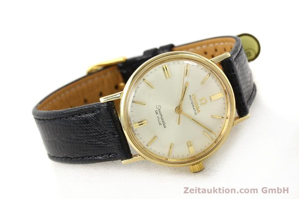 montre de luxe d occasion Omega Seamaster or 18 ct automatique Kal. 550 Ref. LL6609-1  | 140671 03