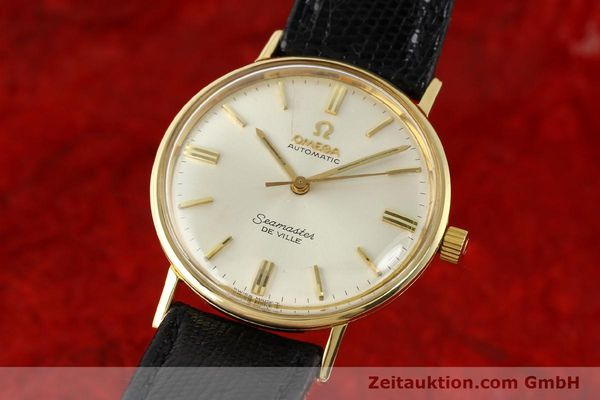 montre de luxe d occasion Omega Seamaster or 18 ct automatique Kal. 550 Ref. LL6609-1  | 140671 04