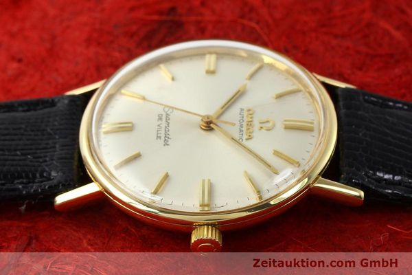 montre de luxe d occasion Omega Seamaster or 18 ct automatique Kal. 550 Ref. LL6609-1  | 140671 05